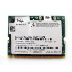 Tarjeta WiFi Mini PCI INTEL WM3B2200BG  802.11 b/g para Notebook